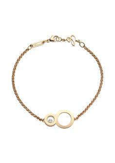 CHOPARD Happy 8 Bracelet   18-carat Rose Gold and Diamond