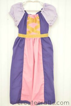 DIY Princess Peasant Dresses that are comfortable! - snow white, rapunzel, tinker bell, and belle