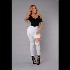 XII Jeans  $32.00 www.ShopDulceVida.com . . #white #summer #casual #me #sexy #High #Sweater #colombia #photooftheday #Love #pants #slim #bikinis #boots #iphoneonly