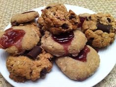Allergy Free Freezer Cookies Freezer Cookies, Gluten Free Flour Mix, Thumbprint Cookies Recipe, Chocolate Squares, Food Names, Cookie Swap, Healthy Cookies, Food Allergies, Freezer Meals