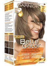 Belle Color 71 Dark Ash Blonde Permanent Hair Color Product
