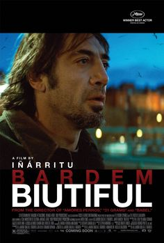 Biutiful (2010). RATED 7.4.  This is the story of Uxbal, a man living in this world, but able to see his death, which guides his every move.
