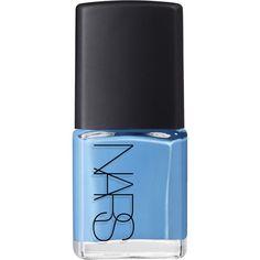 NARS Nail Polish - Ikiru ($20) ❤ liked on Polyvore featuring beauty products, nail care, nail polish, nails, beauty, makeup, fillers, colorless and nars cosmetics