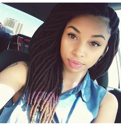 Super Hair Growth Oil CLICK LINK ---> http://www.dawnali.com/long-real-black-hair-natural-and-relaxed-super-growth-oils/ Yarn Braids, Crochets Braids, Box Braids, Natural Hairstyles, Hairstyles Videos, Black Hairstyles, Dreadlock Hairstyles, Protective Hairstyles, Braided Hairstyles