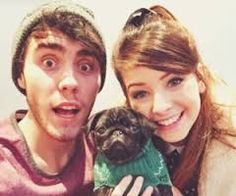 Image result for zoella and alfie nala