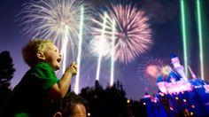 "(Fireworks) - ""Believe"" the special Holiday Firework's show! Click here: https://disneyland.disney.go.com/entertainment/disneyland/fireworks/"