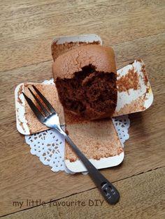 my little favourite DIY: Chocolate Hokkaido Chiffon Cupcakes