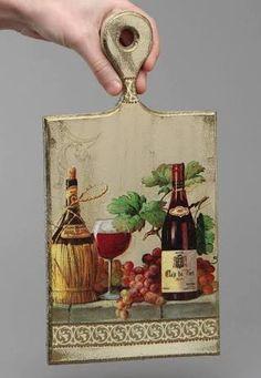 Resultado de imagem para imagenes de tablas de cocina decoradas