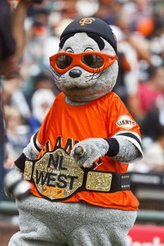 S.F. Giants  Oh Lou Seal....adorable!