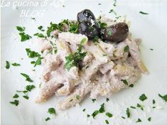 #Pasta with ricotta and black olive pate recipe