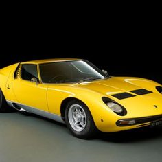 The Miura is one of my favorite sports cars. This Lamborghini could fly...literally. This one, once owned by Rod Stewart, is expected to fetch in the neighborhood of US $1.2 million at Bonhams Goodwood Revival auction.