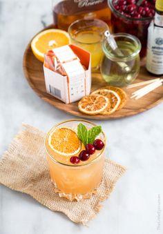 Cranberry Orange Bourbon