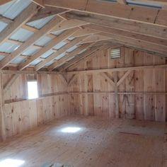 16x20 Barn Interior