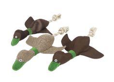 Quacks Thrower Dog Toy by NOAH'S ARK (notonthehighstreet.com -£6.99)