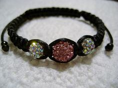 I just listed Pink & AB Crystal Shamballa Bracelet on The CraftStar @TheCraftStar #uniquegifts
