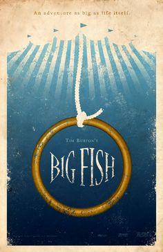 Big Fish 11x17 Movie Poster by adamrabalais on Etsy