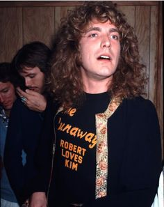 Robert Plant in Runaways Tee