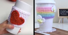 Crochet A Mug Cozy… Or Two! Here Are Six Of Our Favorite Patterns.