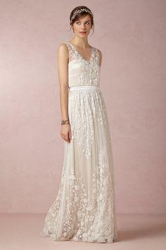 Speechless over this masterpiece {@BHLDN Weddings } #vintage #weddingdress