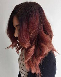 Brilliant 13 Rose Gold Bayalage Hair Ideas https://fazhion.co/2017/12/24/13-rose-gold-bayalage-hair-ideas/ 13 Rose Gold Bayalage Hair Ideas to get you inspired and ready for the newest and the most trendy hair look for the love of 2018