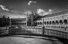 Plaza De Espana. Seville by Jenny Rainbow
