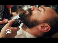 Wet Shave With Maintenance Beard Trim at Barbershop | Cut and Grind - YouTube