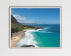 Excited to share the latest addition to my #etsy shop: Hawaii Print Oahu Photo Hawaii Wall Art Ocean Poster Ocean Art Hawaii Decor Hawaii Landscape Photography Beach Print Coastal Art Download Beach Photography, Fine Art Photography, Landscape Photography, Hawaii Landscape, Aerial Drone, Beach Print, Coastal Art, Landscape Prints, Ocean Art