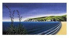 Harakeke - Diana Adams  $173.93 Auckland, Art For Sale, New Zealand, Diana, Waves, Artwork, Outdoor, Outdoors, Work Of Art