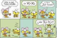 Gaturro - Spanish comics. Spanish jokes for kids #chistes #humor