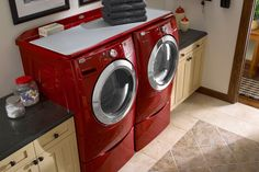 Whirlpool Duet Work Surface On Top Of The Washer And Dryer