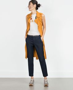 DOUBLE CLOTH TROUSERS-New this week-Woman-COLLECTION AW15 | ZARA United States