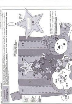 Manualidades y decoraciones para Navidad. Tutoriales botas de Navidad, coronas, ornamentos para el arbol de navidad, juegos de baño navideños.