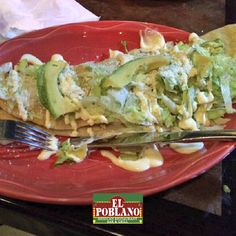 Today we invite you to eat a Jumbo Quesadilla #ElPoblano #Quesadilla #MexicanFood #WhitePlains