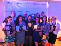 Our MSLGROUP NA team at the Bell Ringer awards.