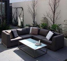 E01g Vernazza Modular Sofa - Gravel