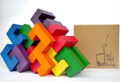 GoodWood Deconstruction Blocks -While it can be tricky to try to reinvent a classic, GoodWood does a pretty decent job with basic building blocks. Using a variety of innovative shapes, they allow for truly creative building and the creation of structures which are both architecturally and geometrically interesting, as well as visually pleasing. A winner of a Dr. Toy's Best Green Product Award, GoodWood blocks are made from forest-friendly rubber wood and colored with water-based acrylic…