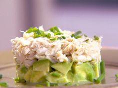 Crab and Avocado Duet salad