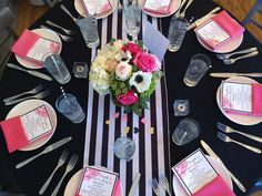 Sophisticated Kate Spade Inspired Bridal Shower decorations, Sophisticated Kate…