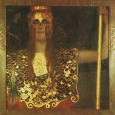 Gustav Klimt Palas Athena