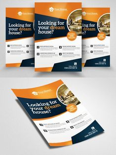 Real Estate Flyers, Property Design, Print Templates, Home Look, Luxury Homes, I Am Awesome, House, Card Templates Printable, Luxurious Homes