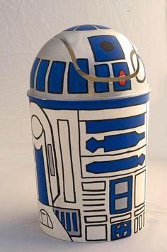 R2D2 mini trashcan Star Wars by StarWarsHandmade on Etsy