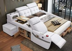 Queen Size Bed Sets, King Size Bedding Sets, Bedroom Bed Design, Bedroom Sets, Sofa Bed Design, Bedrooms, Bedroom Decor, Bed Furniture, Furniture Design