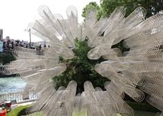 Ai Weiwei's Forever Bicycles installed at Palazzo Franchetti in Venice.
