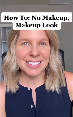 This is my go to look when I want a little something on my face that is perfect for every day. It's so easy and it takes less than five minutes in the morning. Click the link for video!
