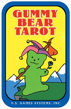 Gummy Bear Tarot in a Tin