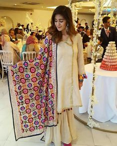 Image may contain: 6 people, people standing Stylish Dresses, Casual Dresses, Fashion Dresses, Casual Wear, Girls Dresses, Pakistani Outfits, Indian Outfits, Traditional Fashion, Traditional Outfits
