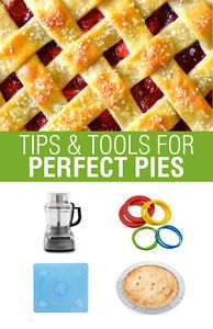 Whipping up a perfect pie from scratch is easier than you might think. All you need is a few key tools and some tried and tested tips and pies of all shapes, sizes and flavors will be yours for the making....