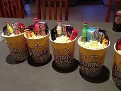 Movie night snack | 19 DIY Movie Night Ideas for Teens that will get the party started! #teenbirthdaygifts