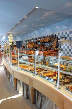 Cr ation et agencement de magasins boulangerie p tisserie desperrier b - Huche a pain moderne ...