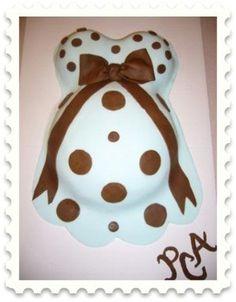 Baby bump cake :)